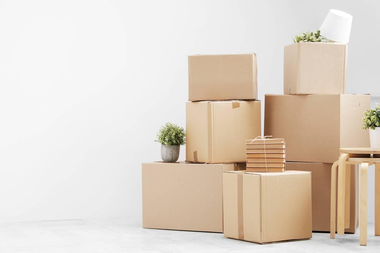 cartons déménagement stockage